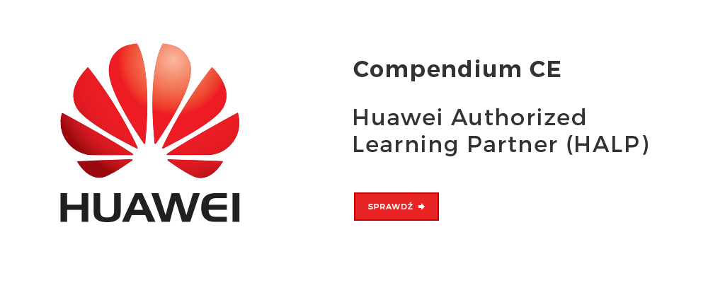 Compendium CE officially has become a Huawei Authorized Learning Partner (HALP)