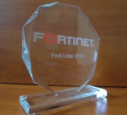 The Fortinet FortiLider 2014 Award