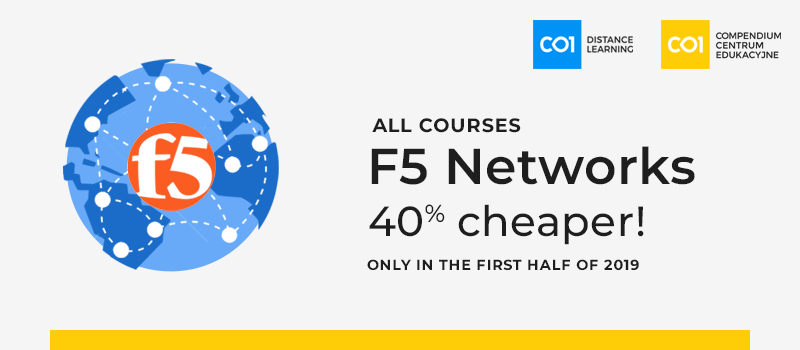 F5 Networks training now cheaper